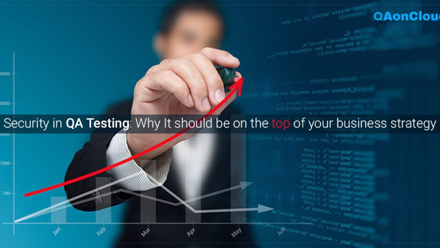 WHY SECURITY SHOULD BE YOUR TOP PRIORITY IN QA TESTING?