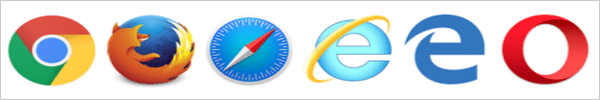 all browser icons